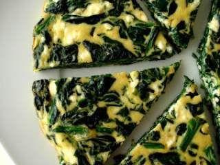 tortilla espinacas