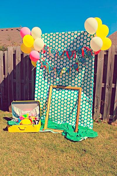 Decoración cumpleaños en verano